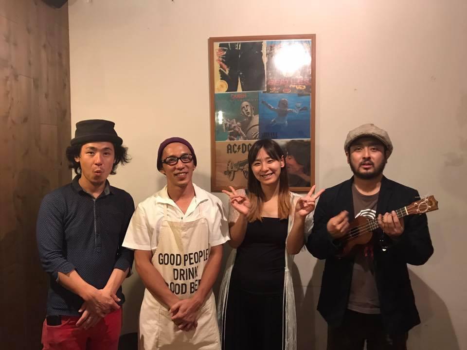 【4周年記念ライブ】おかげさまでみやっち食堂は4周年を迎えました!